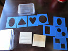 Stampin Up Just Journaling scrapbooking sets with Stencils templates  2 sets