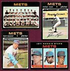 1971 Topps New York Mets Complete Team Set Nolan Ryan Seaver McGraw EX EM (32)