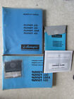 Parts REPAIR MANUALS 4 pcs