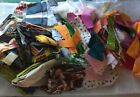 Large Scrap Fabric Lot Over 6 lbs Cotton Quilting Crafting Sewing Scraps