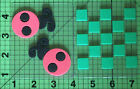 Chunky Layer Foam Stamps Lady Bugs and Grid Stenciling Scrapbooking Home Decor