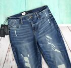 ROCK & REPUBLIC Kashmiere Jean Leggings Size 14M Destructed NEW
