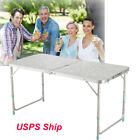 USAFolding Table 4 Portable Plastic Indoor Outdoor Picnic Party Camp Tables