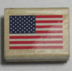 Stampabilities Wood Mounted Rubber Stamp US US UNITED STATES FLAG