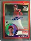 Shohei Ohtani Auto 35th Anniversary of 1983 Release Red Refractor #1 of 5 !!!!