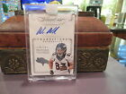 Panini Flawless Autograph Transitions Auto Broncos Wes Welker 03 25 2014