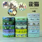 2 pcs for Totoro Japanese Washi Adhesive Tape your choice