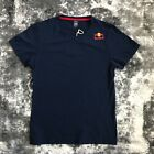 RED BULL ATHLETE ONLY SHIRT RARE SIZE LARGE HAT NAVY BLUE