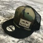 RED BULL ATHLETE ONLY HAT VERY RARE 2018 TRUCKER CAMO