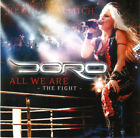 Doro – All We Are - The Fight RARE COLLECTOR'S NEW CD! FREE SHIPPING!