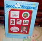 Good Shepherd Baby's Christmas Counted Crosss Stitch Photo Album Collection  NIP
