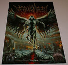 """Immolation Atonement 11"""" x17"""" Rare Publicity Poster New Signed By alex Bouks"""