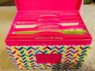 NEW Pink Box 25 All Occasion Greeting Cards Assortment Keepsake Box