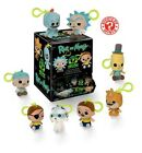 Rick and Morty Mystery Minis Plush Key Chain SEALED Display Case of 18 pieces