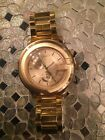 Gucci gold mens watch BRAND NEW