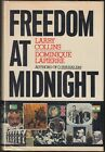 Freedom at Midnight by Larry Collins Dominique Lapierre 1975 SIGNED HC DJ 1ST