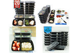 Stackable Food Storage Containers With Lids Dorm Room Refrigerator Organization