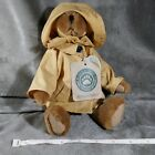 Boyds Bear, Bumpershoot, the Artisan Series, wearing a raincoat