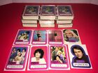 Lot of (10) 1978 Threes Company Complete Sticker Sets 1-44