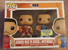 Funko Pop NBA Derrick Rose vs Russel Westbrook Convention Exclusive 2015 Mint