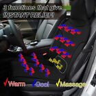 Zento Deals Car Cooler Summer Back Release Cool Air Seat Cushion Chair Cover