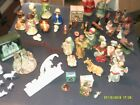 MIXED LOT OF VINTAGE NATIVITY PIECES SETS CHALK GLASS PORCELAIN RESIN PLASTIC MO