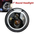 7 Inch Round LED Headlight Halo DRL turn signal light For Jeep Wrangler JK LJ TJ