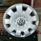 "#61552 OEM 2005-2010 VW Jetta Rabbit Golf 15"" Hubcap #1T0601147 Free S"