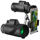 40X60 Durable High power BAK4 Telescope With Fast Smartphone Stand Night Vision