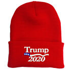 TRUMP 2020 AMERICAN FLAG RED BEANIE HAT FREE SHIP TO USA