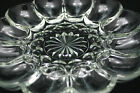 Vntg Clear Glass Egg Tray Platter Relish Divider 10