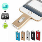 8GB 256GB 512GB Flash Pen Drive USB Memory Stick U Disk OTG For iPhone IOS Apple