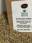 5 SIX BEAN ESPRESSO BLEND UNROASTED GREEN COFFEE BEANS BIG FLAVOR AND CREMA