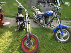 2005 Custom Built Motorcycles Chopper 2 Mini Scooters Choppers Style Bundle1Spiderman Bike 1TerminatorYou Get Both