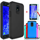 For Samsung Galaxy J7 V 2018 Crown Refine Star Case Cover With Screen Protector