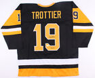 Bryan Trottier Signed Pittsburgh Penguins Jersey Inscribed