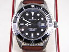 Steinhart Mens Automatic Ocean One  SS wBox Papers and extra band MINT
