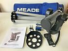 Meade ETX 70 Refracting Telescope w 25mm lens 9mm lens Tripod and Travel Bag