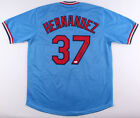 Keith Hernandez Signed St Louis Cardinals Blue Jersey (JSA COA) 1979 NL co-MVP