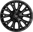Mini Cooper JCW 19 R134 Matt Black Cross Spoke Wheel Rim Countryman Paceman OEM