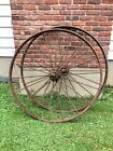vintage steel wagon wheels