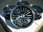 16 Wheels Honda Accord Civic Fiesta Insight Prelude Cooper Black 4x100 Rim 4Lug