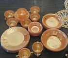 's Ovenware Fire King Peach, Dishes 6 Piece Complete Set   $200.00 or Offer
