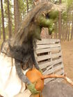 Primitive Folk Art Doll Witch Great Look Totally Awesome Large and Heavy