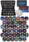 SPACE SHUTTLE DISCOVERY MISSIONS NASA Florida State Quarters 39 Coin Set w BOX