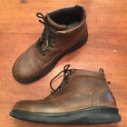RED WINGS Chukka SD 8662 Leather Work Hunting Field Slip Oil Resist Boots 12 D