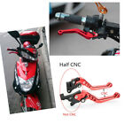 Red Scooter GY6 Lever Grip for Front wheel Disc Brake and Rear wheel Drum Brake