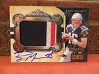 National Treasures Rookie Autograph Jersey Patriots Ryan Mallett 45 99 2011