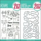 Avery Elle POLAR PEEK A BOO PALS Clear Stamps Only OR Stamp  Die Bundle 2018