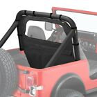 For Jeep Wrangler 1987-1995 Bestop 80028-15 Windjammer Black Denim Rear Window